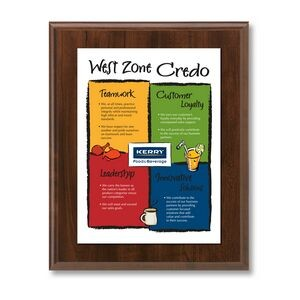 "Vivid Collection Digital Graphics Plaque w/ 1/16"" Acrylic Panel (12""x15"")"